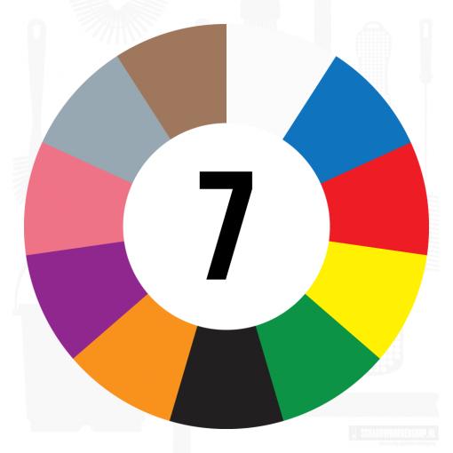7 kleuren