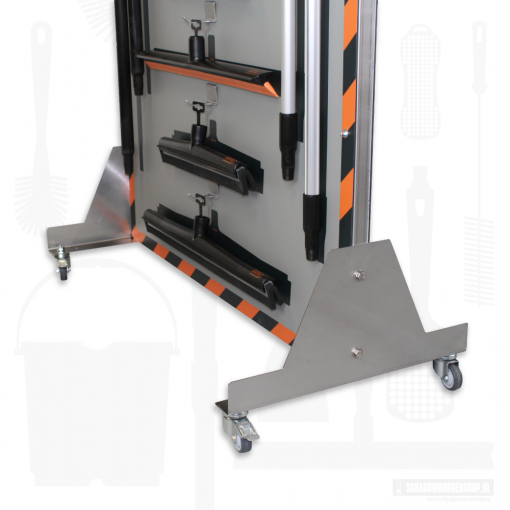 RVS-frame-schaduwbord